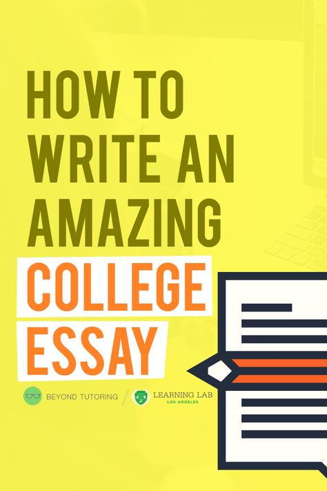 write an amazing essay The beginning of writing an essay doesn't just start at the introduction paragraph a lot has to happen before any concrete writing can begin knowing is half the battle, so determining the essay type will completely transform the style of writing that should be chosen.