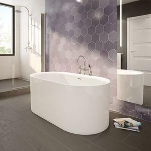 Medium Aria Tub Refrain Bre5731 Free Standing Bath Tub
