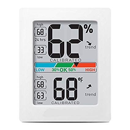 Pro Accuracy Temperature & Humidity Monitor with Alarms