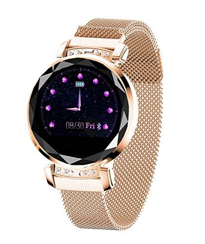 Smart Watch,Bluetooth Fitness Tracker Color Touch Screen