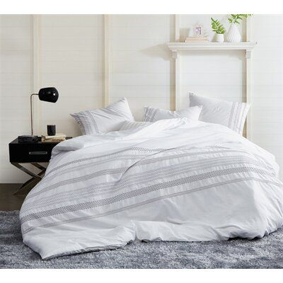 Trinity Stitch Embroidered Single Duvet Cover Size Twin Xl Product Type Comforter Embroidered Duvet Cover Single Duvet Cover White Duvet Covers