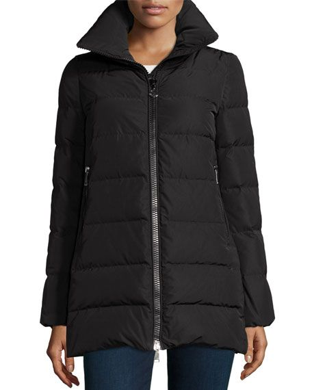 994915c41 MONCLER Petrea Quilted Puffer Coat, Charcoal 9. #moncler #cloth ...