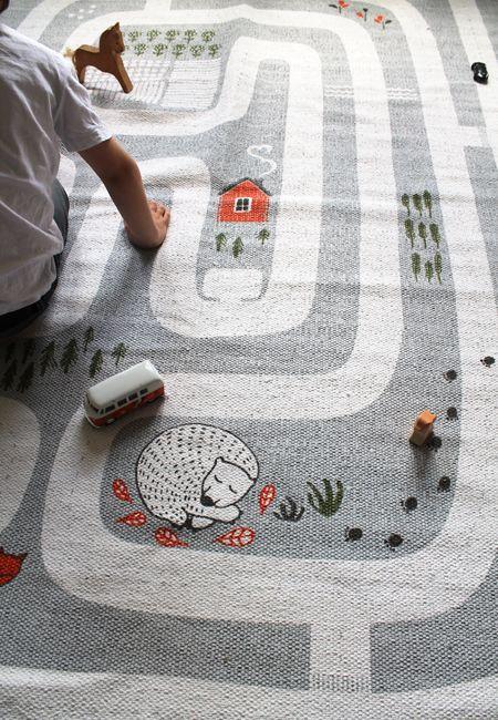 Finarte Maalla Spielteppich | Spielteppich, Teppich kinder ...