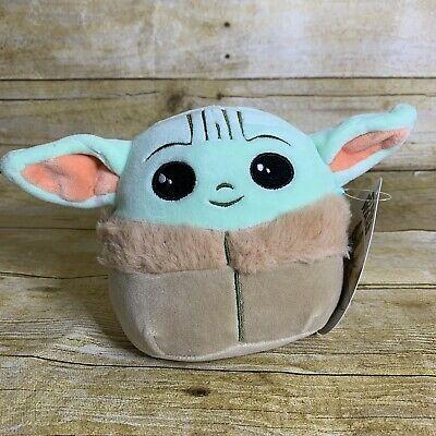 Squishmallow Disney Star Wars Plush 5 Mini Baby Yoda The Child Disney Star Wars Yoda Star Wars