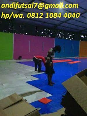 Karpet Interlock Lantai Lapangan Futsal Matras Karpet Lantai