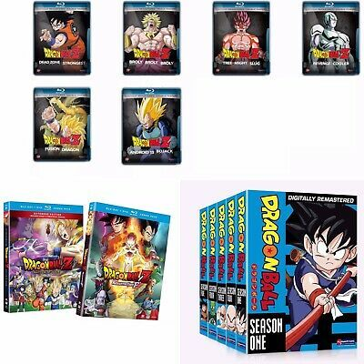 Ebay Ad Link Dragon Ball Z Movies Lot Full Series Dvd Blu