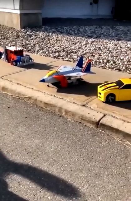 Halloween Transformers