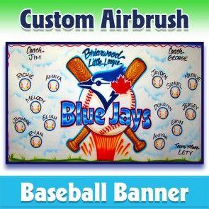 Baseball Banner Blue Jays 1002 In 2020 Baseball Banner Baseball Team Banner Team Banner