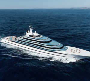 110m Mega Yacht Jubilee To Be Redelivered In 2020 Boats Luxury