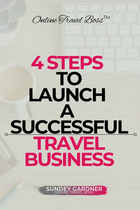 4 Steps To Launch a Successful Travel Business