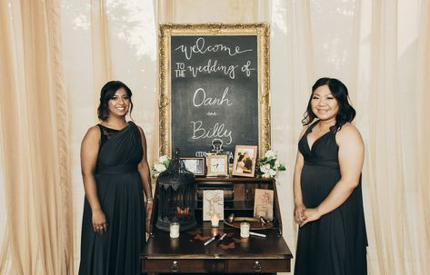 leilani weddings | welcome table ideas | california #welcometable #weddingreception