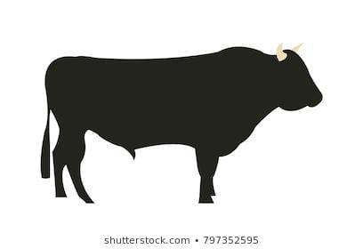 黒毛和牛 シルエット」の画像、写真素材、ベクター画像