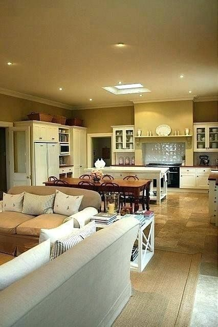 Living Room Kitchen Combo Decorating Idea Fresh Small Kitchen And Family Room Desig In 2020 Open Kitchen And Living Room Open Plan Kitchen Dining Kitchen Dining Living
