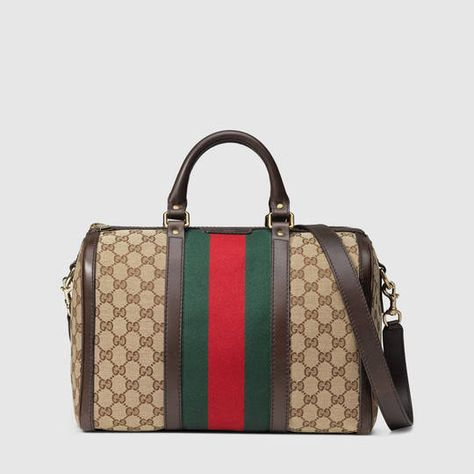 933ef05e0216  1415 Gucci Vintage Web Original GG boston bag