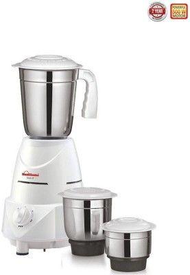 Sunflame Smart 500 W Mixer Grinder White 3 Jars Kitchen