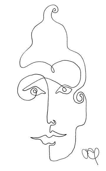 Dibujar Con Una Sola Linea Arte Lineal Dibujos Dibujo Con Lineas