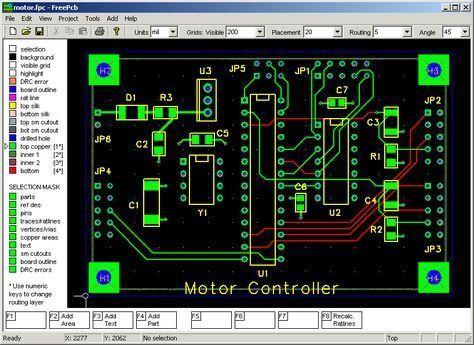 Top 10 Free Pcb Design Software Gadgetronicx Pcb Design Software Pcb Design Circuit Board Design