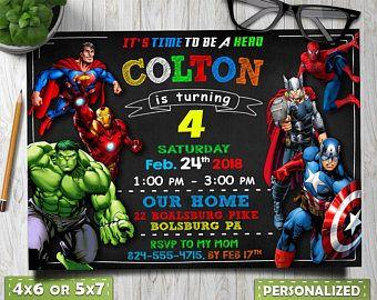 This Item Is Unavailable Etsy Avengers Birthday Superhero Birthday Invitations Marvel Birthday Party