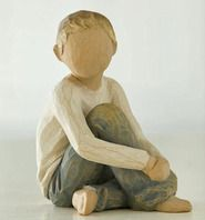 Caring Child Willow Tree - A perfect inspirational gift for friends & family