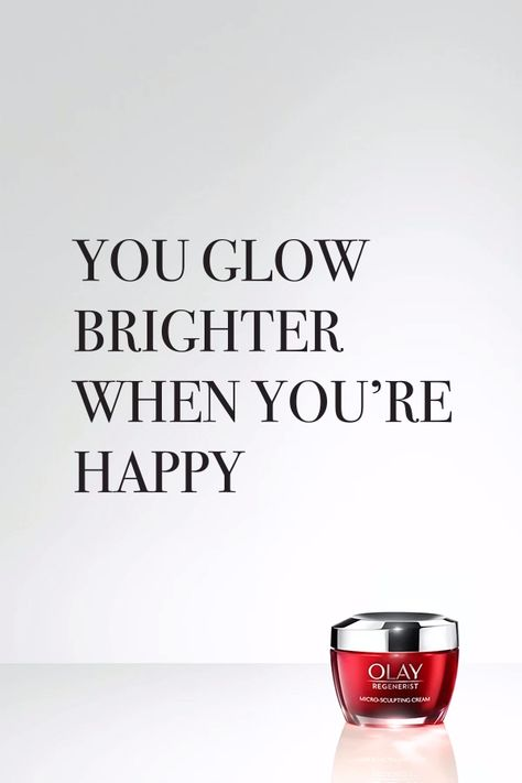 When you put yourself at the top of your priority list, you glow. We're just here whenever you need a boost of Olay hydration.