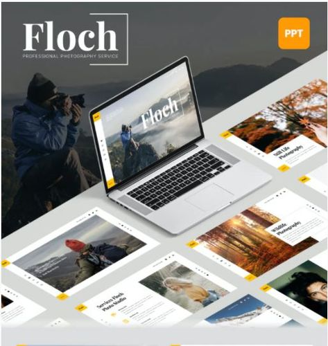 Floch - Photography PowerPoint Template