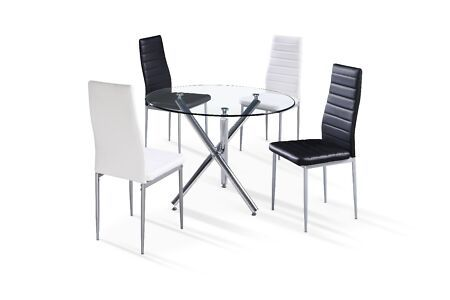 New Conjunto Comedor Kenzo 90cm Circular Dining Furniture Sets