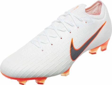f3f305fa14ada5 Nike Mercurial Vapor 12 Elite FG – White Total Orange