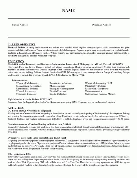Functional Resume Template Free -    wwwresumecareerinfo - functional resume template free