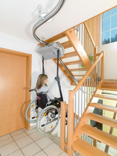 Compact Stairs, Handicap Accessible Home, Stair Lift, Carpet Fitting, Wheelchair Accessories, Cool Inventions, Wet Rooms, Modular Homes, Space Saving