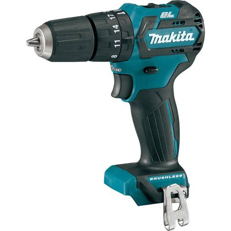 Makita 12 Volt Max Cxt Lithium Ion 3 8 In Brushless Cordless Hammer Driver Drill Tool Only Ph05z Drill Cordless Drill Reviews Drill Driver