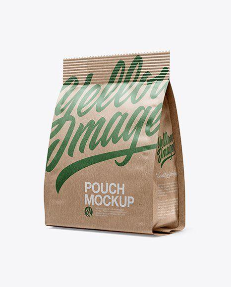 Download White Pouch Mockup Psd Desain