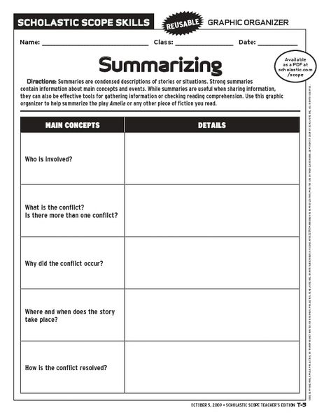 2nd Grade Summarizing Worksheets Summarizing Worksheets For Second Summarizing Worksheet 1st Grade Math Worksheets Printable Preschool Worksheets