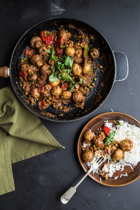 Mushroom Masala - Cook Republic
