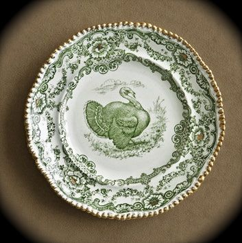Nancy's Daily Dish: The History of Turkey Transferware and Thank You's