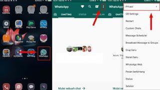 Cara Whatsapp Centang Satu Tapi Online Tanpa Aplikasi Dan Dengan Aplikasi Whatsapp Telah Mendapat Beberapa Fitur Baru Selama Game Drop Chat Messages Messages