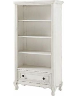 Avenue Greene Antique White Bookcase