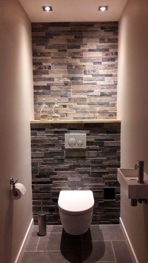 15 idées pour le revêtement mural de ses toilettes | Maison ...