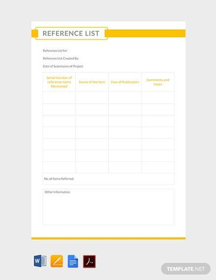 Reference List Template Free Pdf Word Apple Pages Pdf Template Net Book Template Funeral Program Template Funeral Guest Book