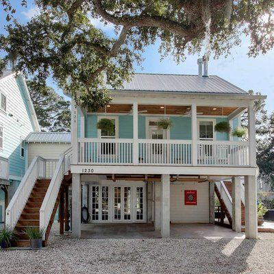 Water Color, Florida Mint Julep Beach Cottage Back Porch | Beach House  Inspiration ⚓ Coastal Home Decor | Pinterest | Beach Cottages, Porch And  Water