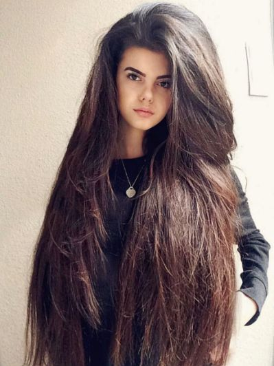17 Best Images About Big Hair On Really Long Hair Straight Hairstyles Long Hair Styles