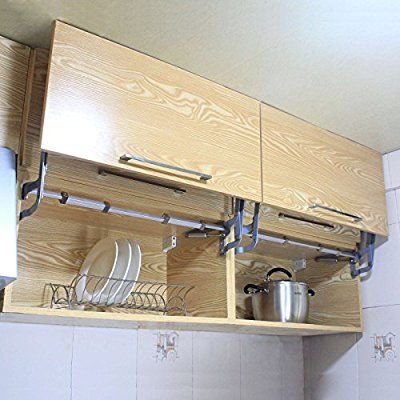 Gimify Hanging Cabinet Door Vertical Swing Lift Up Stay Pneumatic Kitchen Mechanism Hinges Gas Support Arm Hinges For Cabinets Cabinet Doors Hanging Cabinet
