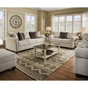Three Posts Minisink Configurable Living Room Set Wayfair Living Room Sets Living Room Collections Country Living Room