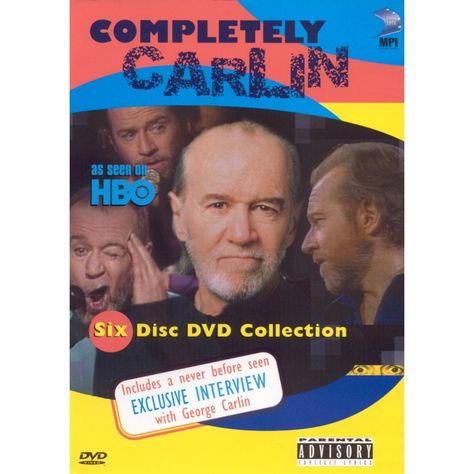 Completely Carlin 6 Discs Dvd Video George Carlin Dvd Carlin
