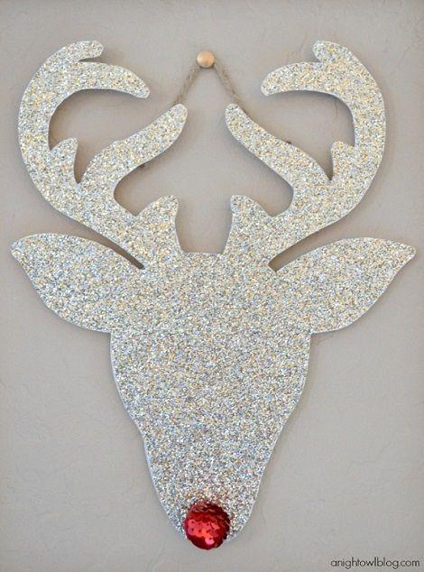 Rudolph decoración de pared navidad