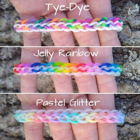 Rainbow Loom Easy, Rainbow Loom Bracelets Easy, Rainbow Loom Animals, Loom Band Bracelets, Rainbow Loom Bands, Rainbow Loom Charms, Diy Bracelets Easy, Bracelet Crafts, Loom Band Charms