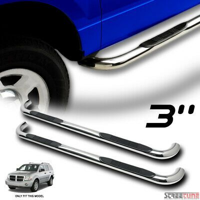 Sponsored Ebay For 04 10 Durango 06 09 Aspen 3 Chrome Stainless Side Step Bar Running Board Hd In 2020 Ebay Chevy Equinox Stainless