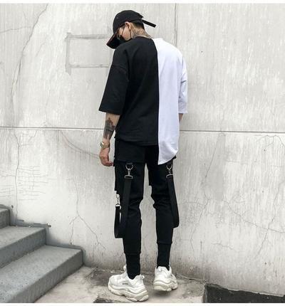 2018 New Fashion Hip Hop Sweatpants Men Black Mens Joggers Harem Pants Chicmaxonline Chandal Para Hombre Pantalones De Chandal