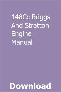 148cc Briggs And Stratton Engine Manual Stratton Briggs Stratton Engineering