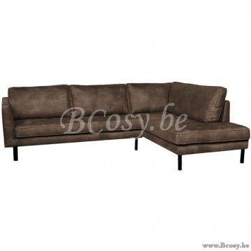 Zandkleurig Leren Bankstel.Lifestyle Perugia Leren Hoekbank Perugia Zandkleur Lounge Sofa
