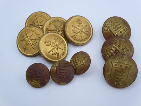 Vintage Military Buttons | Collectors Weekly